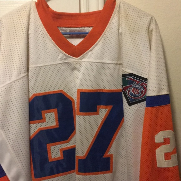 new product 55546 cb02a Steve Atwater throwback Mitchell and Ness